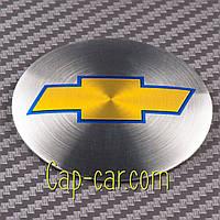 Наклейки для дисків з емблемою Chevrolet. ( Шевроле ) Ціна вказана за комплект з 4-х штук