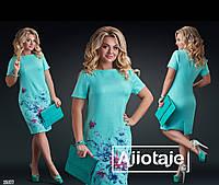 Льняное платье с цветочным принтом, фото 1