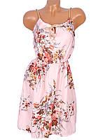 Повседневное летнее платье приталенное (42-44)