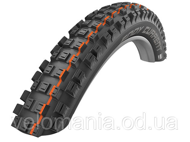 Покрышка 29x2.60 (65-622) Schwalbe EDDY CURRENT REAR Super Gravity, Evolution TLE B/B-SK HS497 Addix Soft 67EPI, фото 2