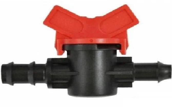 Кран стартовий д. 16 мм з резинкою для краплинної трубки (SL-011-3), фото 2