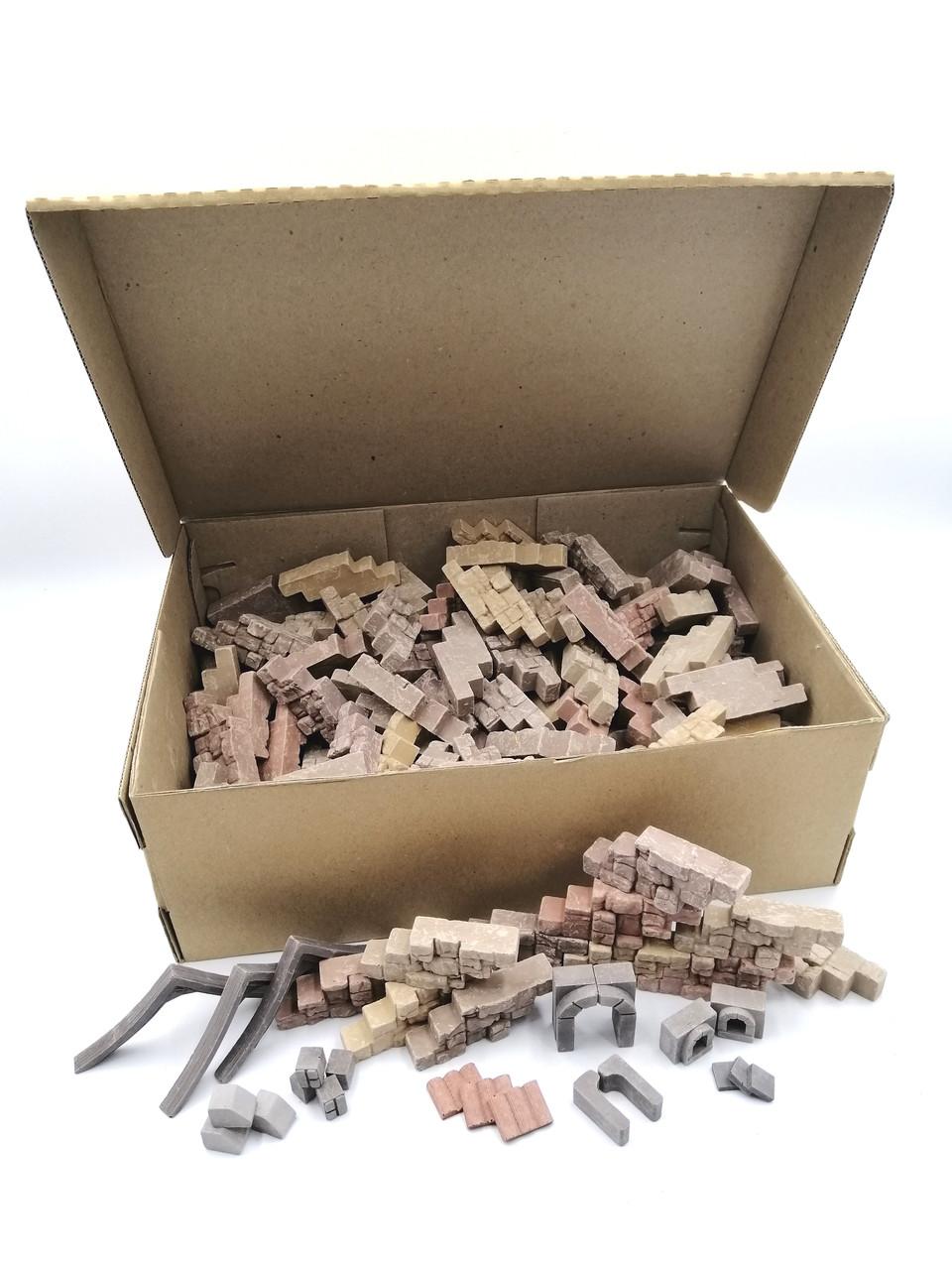 Додаток до конструктора | Набір цеглинок, 440шт | Країна замків та фортець, Україна