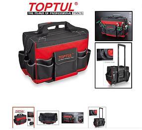 Профессиональная сумка для инструмента с колесами и телескопической ручкой  TOPTUL PBW-045A