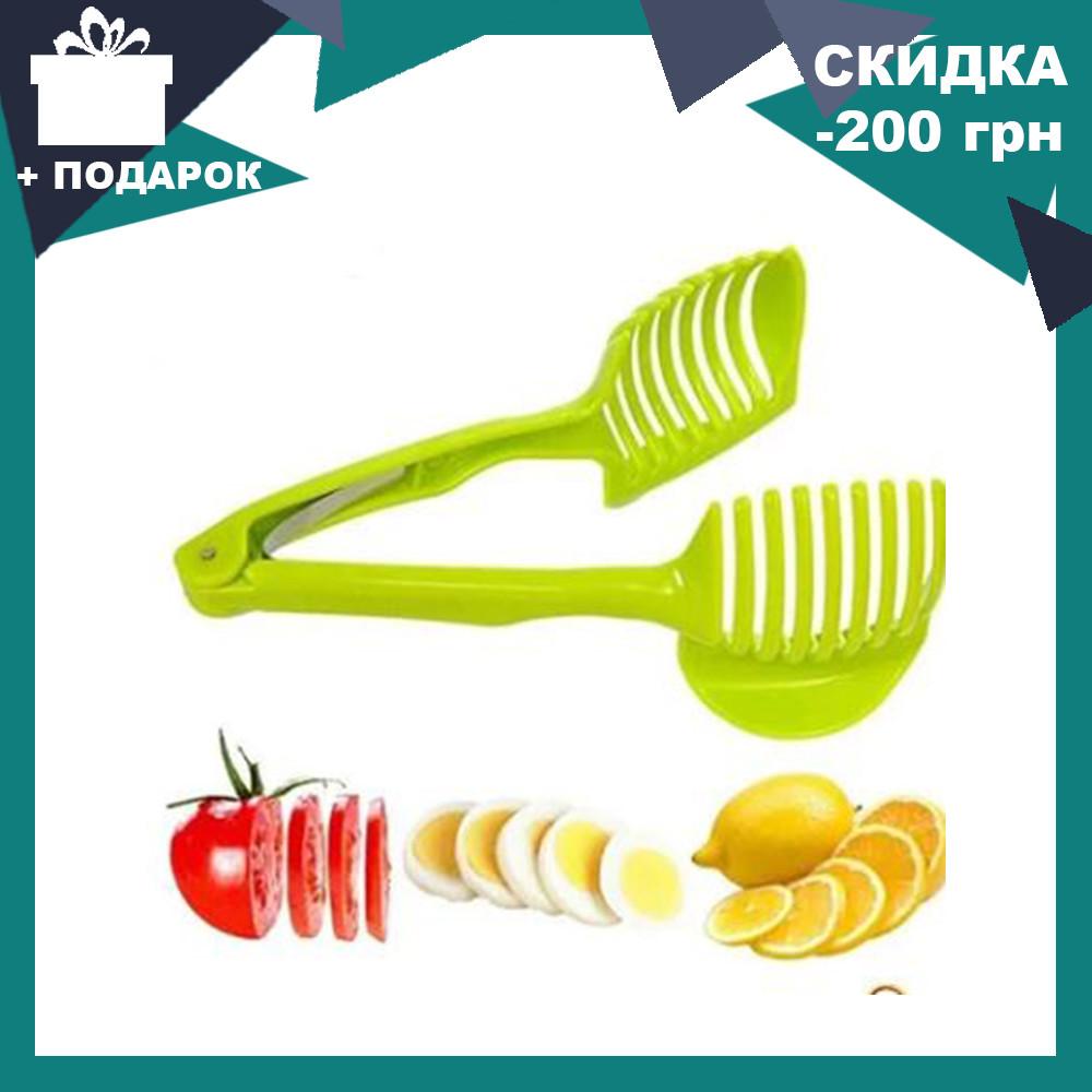 Слайсер для идеальной нарезки овощей Benson BN-097   овощерезка ручная Бенсон   держатель овощей Бэнсон