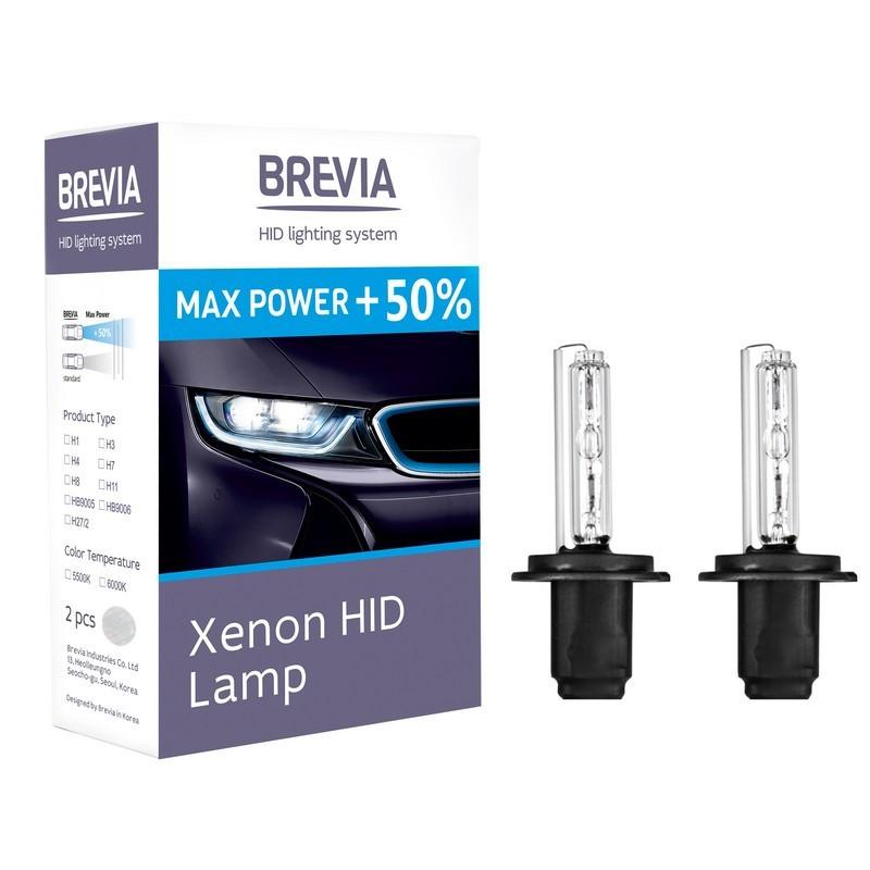 Ксенонові лампи BREVIA H11+50% 5500K 12950MP