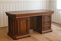 Дубовый двухтумбовый стол Колизей для кабинета