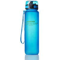 Пляшка для води Uzspace Blue 1000 мл Синя