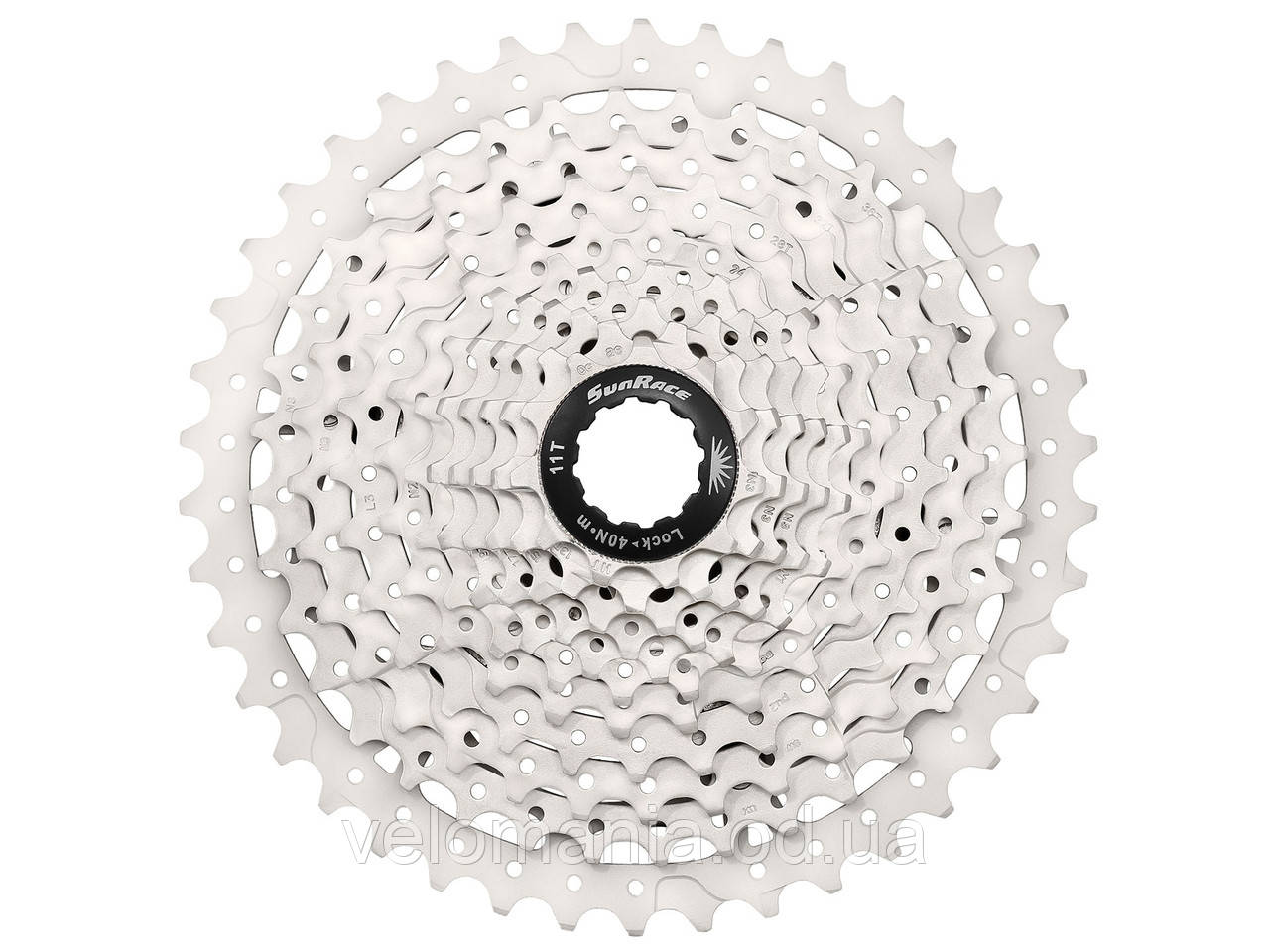 Кассета инд. 10-k 11-42T SUN RACE MTB MS3 metallic/silver