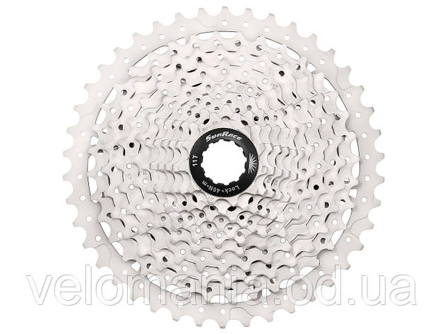 Кассета инд. 10-k 11-42T SUN RACE MTB MS3 metallic/silver, фото 2