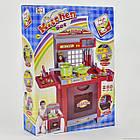 Детский игровой набор интерактивная кухня большая 008-55 A свет звук, фото 3