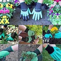 Перчатки- грабли для сада, огорода  GARDEN CLOVE