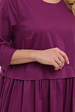 Красивое платье больших размеров летнее стройнящее, фото 3