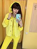 Fashion костюм куртка + штани жіночий 4907-5009 Speedway Туреччина L, жовтий, фото 4