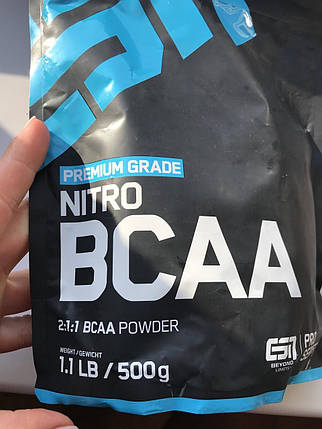 Аминокислоты БЦА Германия ESN Nitro BCAA Powder, фото 2