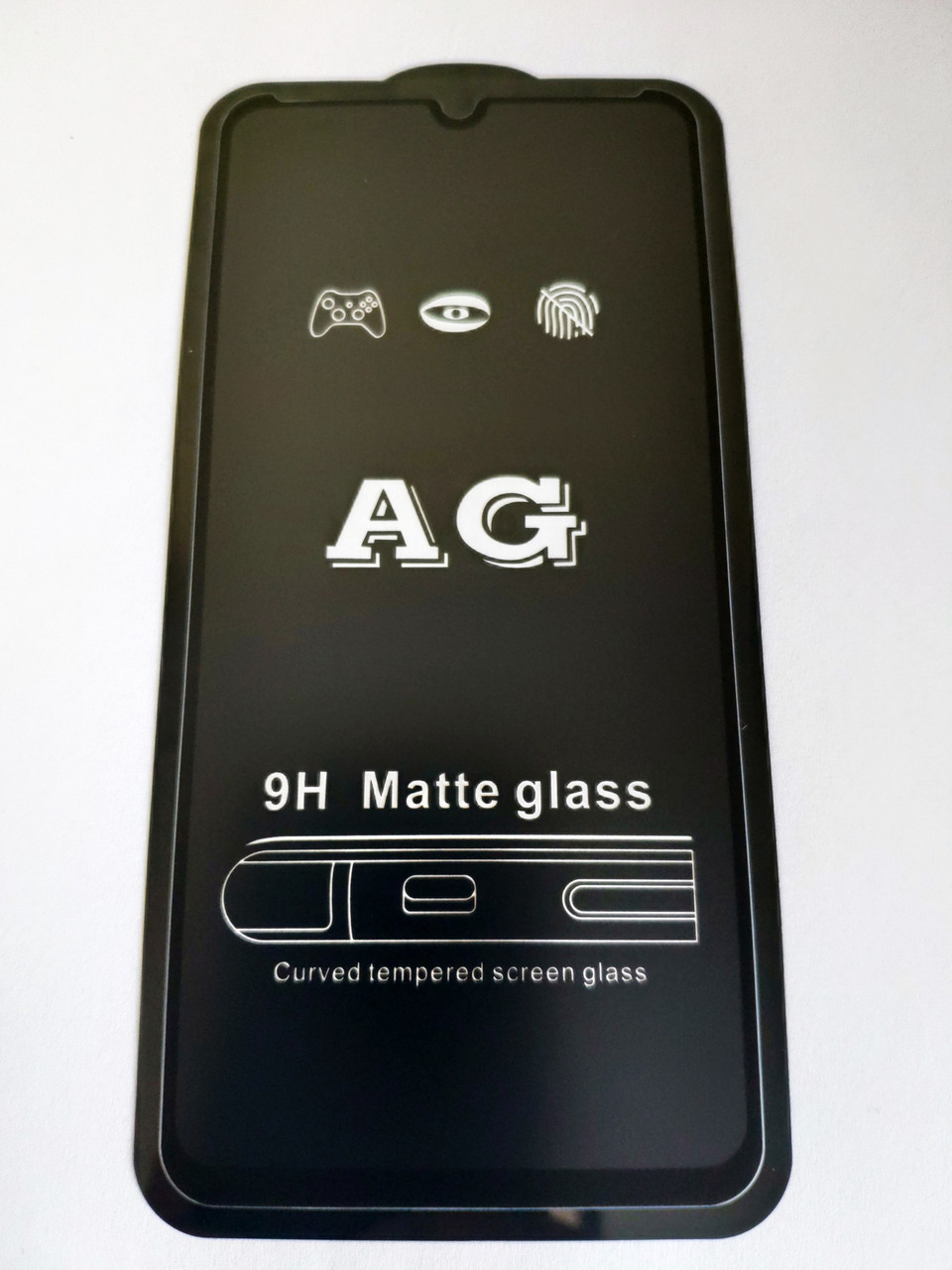 Захисне скло AG Matte Full Glue для Xiaomi Redmi 7 Матове Чорне