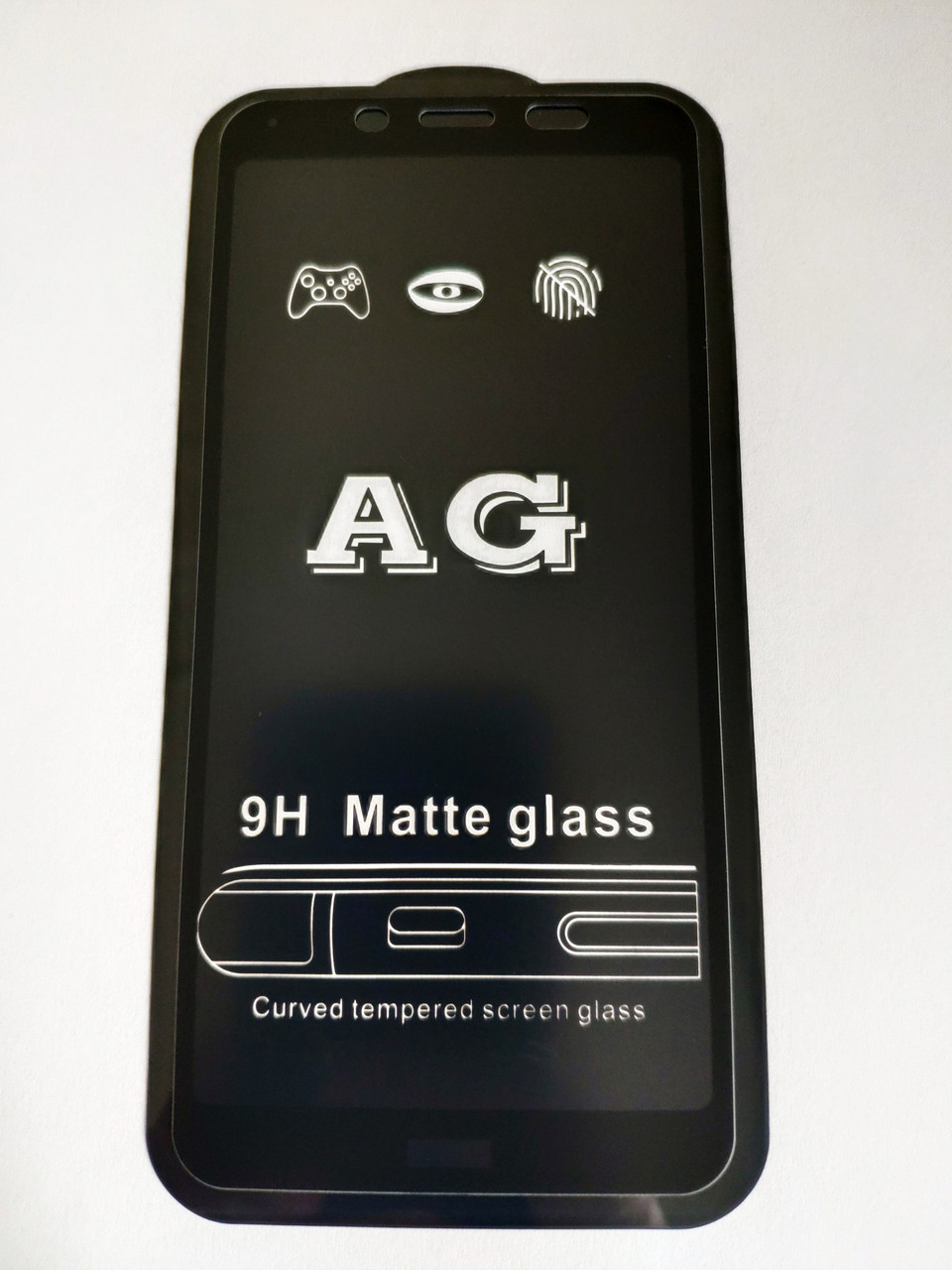 Захисне скло AG Matte Full Glue для Xiaomi Redmi 7A Матове Чорне