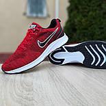 Мужские кроссовки Nike Air Zoom красные летние в сеточку. Живое фото. Реплика, фото 7