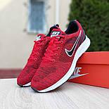 Мужские кроссовки Nike Air Zoom красные летние в сеточку. Живое фото. Реплика, фото 8