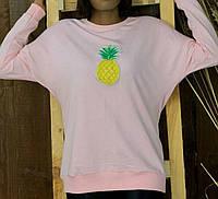 Красивый комфортный женский батник,толстовка,свитшот,свитер с яркой нашивкой.ЧИТАЙТЕ ОПИСАНИЕ ТОВАРА!