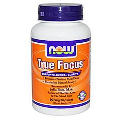 Now Foods True Focus 90 шт, офіційний сайт