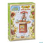 Детский игровой набор интерактивная кухня большая FUN GAME 7425 Современная кухня красная, фото 2