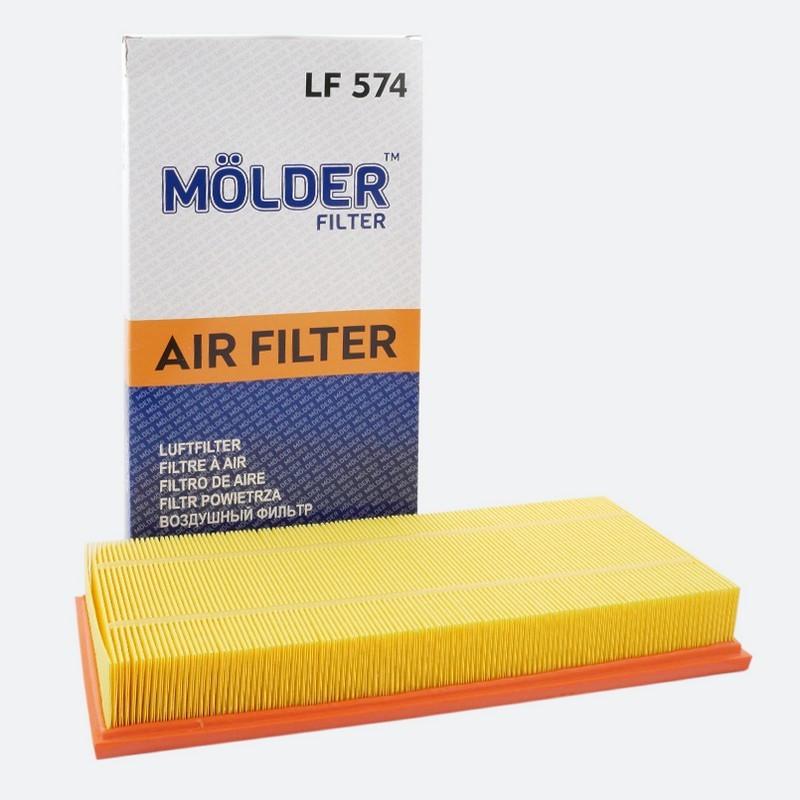 Фильтр воздушный MOLDER LF574 (аналог WA6333/LX684/C37153)