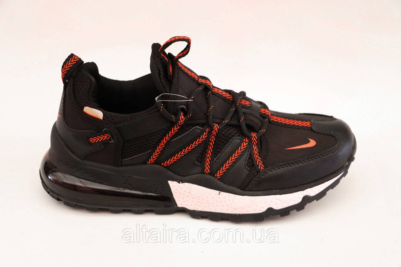 Кросівки чоловічі чорні Nike репліка