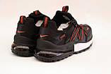 Кросівки чоловічі чорні Nike репліка, фото 3