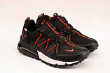 Кросівки чоловічі чорні Nike репліка, фото 4