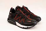 Кроссовки мужские черные  Nike реплика, фото 4