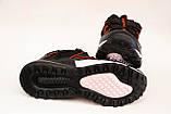 Кросівки чоловічі чорні Nike репліка, фото 5