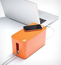 Органайзер для проводов огнестойкий Cablebox Mini Bluelounge (orange)