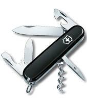 Нож Victorinox Викторинокс Spartan 91 мм 12 предметов черный