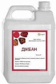 Гербицид Дикбан / Дікбан аналог Банвел, Диво Н дикамбы кислота 480 г/л, для пшеници, ячменя, кукурузы