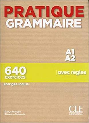 Pratique Grammaire A1-A2 Livre avec Corrigés, фото 2