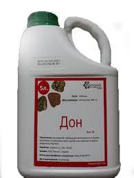Гербицид довсходовый Дон аналог Дуал Голд, Датонит Голд метолахлор 960 г/л, для подсолнечника, свеклы