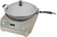 Плита индукционная +  Сковорода индукционная WOK Hendi