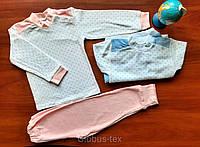Пижама детская подростковая махра для девочки и мальчика, размер - 40