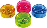 Точилка с контейнером (KUM, пластиковая круглая, 210K1 Pop)