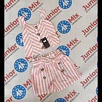 Дитячий літній легкий натуральний костюм для дівчаток оптом Fanny Look, фото 1