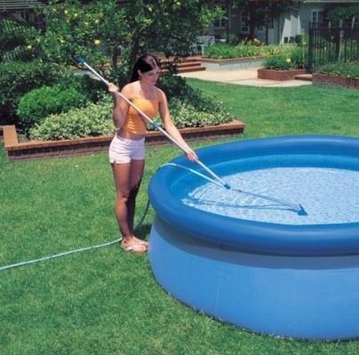 Надувний басейн Intex Easy Set Pool 56409 457 см х 107 см