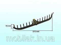 Граблі пл.16-ти зуб.L=70мм (Україна) ТМАНДРУК