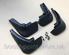 Брызговики пластик, под оригинал Audi A6 C6 (ауди а6 с6) 2004-2005-2010-2011