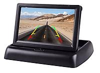 """Складной монитор для камеры заднего вида 5"""". Дисплей автомобильный для камеры, фото 1"""