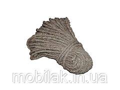 Мотузка пенькова d=10мм (50м) ТМХАРКІВ