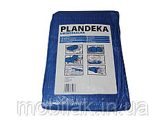 Тент будівельний 55гр/м2, 2 х 3м синій ТМPLANDEKA