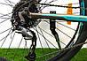 """Горный велосипед Crosser Pionner 26 дюймов. Алюминевая рама 17"""" GREY-BLUE, фото 3"""