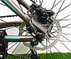 """Горный велосипед Crosser Pionner 26 дюймов. Алюминевая рама 17"""" GREY-BLUE, фото 4"""