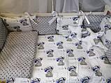 """Комплект постельный """"Elite"""" в детскую кроватку, для мальчика, фото 2"""