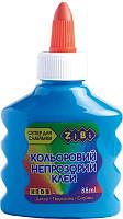 Клей ПВА ZiBi KIDS Line 88 мл непрозрачный синий (ZB.6113-02)